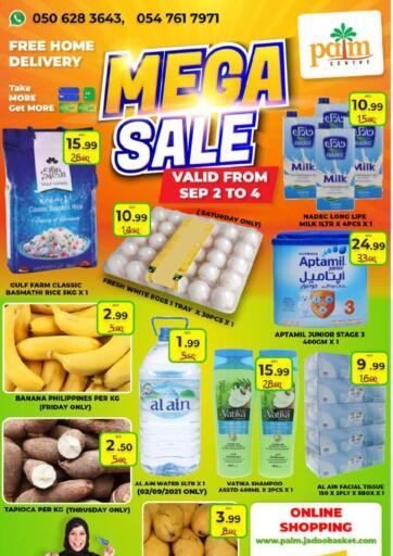 UAE - Sharjah / Ajman Palm Centre LLC offers in D4D Online. Mega Sale. . Till 4th September