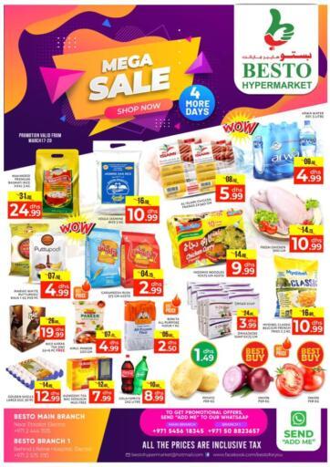 UAE - Abu Dhabi Besto Hypermarket offers in D4D Online. Mega Sale. . Till 20th March