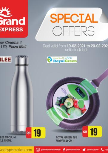 Qatar - Al Wakra Grand Hypermarket offers in D4D Online. Special Offers. Special Offers Are Available At Grand Hypermarket. Offers Are Valid Till 20th February. Enjoy!!. Till 20th February