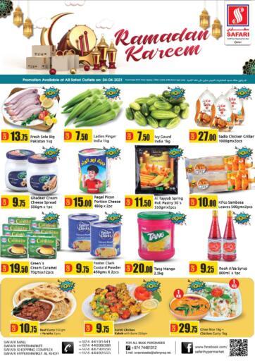 Qatar - Al Daayen Safari Hypermarket offers in D4D Online. Ramadan Kareem. . Only On 04th April