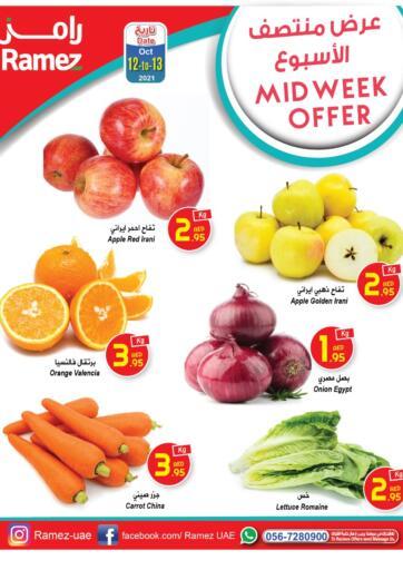 UAE - Sharjah / Ajman Aswaq Ramez offers in D4D Online. Mid Week Offers. . Till 13th October