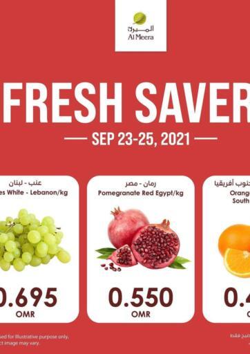 Oman - Muscat Al Meera  offers in D4D Online. Fresh Savers. . Till 25th September