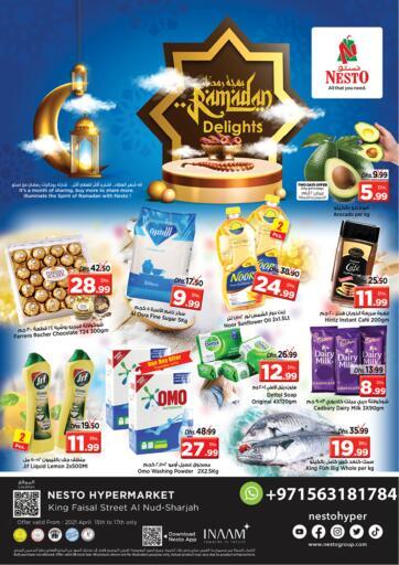 UAE - Sharjah / Ajman Nesto Hypermarket offers in D4D Online. King Faisal, Sharjah. . Till 17th April