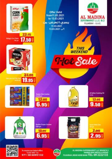 UAE - Fujairah Al Madina Supermarket LLC offers in D4D Online. Hot Sale. . Till 13th March