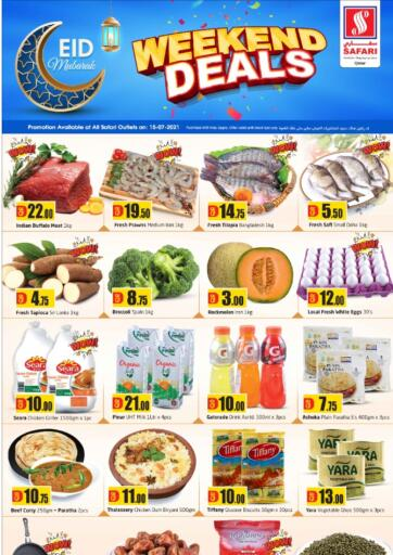 Qatar - Al-Shahaniya Safari Hypermarket offers in D4D Online. Weekend Deals. . Only On 15th July