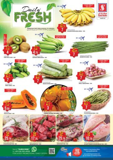 UAE - Sharjah / Ajman Safari Hypermarket  offers in D4D Online. Daily Fresh. . Till 25th September