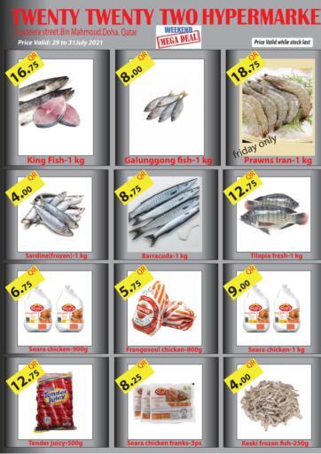 Qatar - Al-Shahaniya Twenty TwentyTwo offers in D4D Online. Weekend Mega Deal. . Till 31st July