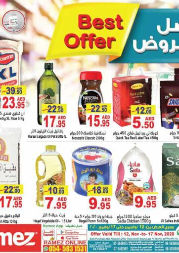 UAE - Ras al Khaimah Aswaq Ramez offers in D4D Online. Best Offers.  Best Offers At Aswaq Ramez, Offers Going On For Fresh Food, Groceries, Home Needs, Electronics, etc. Grab Your Favorites At Low Price.  Offer Valid Till  17th November 2020. Happy Shopping!!!. Till 17th November