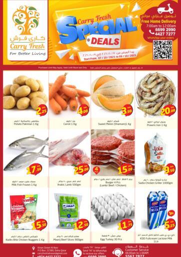 Qatar - Al-Shahaniya Carry Fresh Hypermarket offers in D4D Online. Special Deals@Al nasr. . Till 9th October