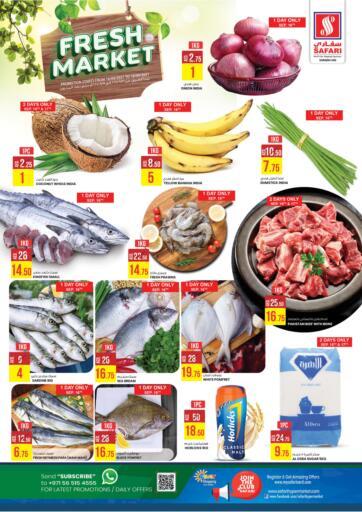 UAE - Sharjah / Ajman Safari Hypermarket  offers in D4D Online. Fresh Market. . Till 18th September