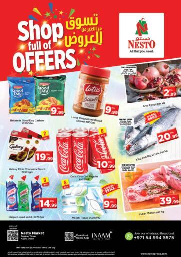 UAE - Sharjah / Ajman Nesto Hypermarket offers in D4D Online. Arjan - Dubai. . Till 13th October