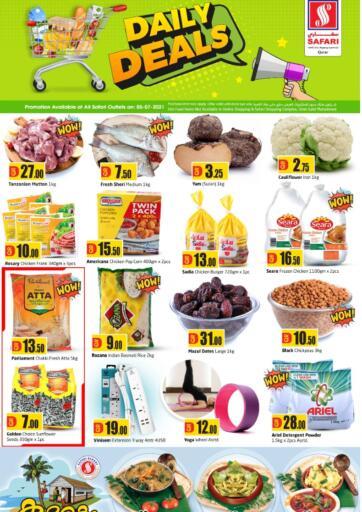 Qatar - Al-Shahaniya Safari Hypermarket offers in D4D Online. Daily Deals. . Only On 05th July