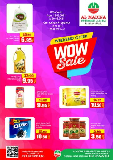 UAE - Fujairah Al Madina Supermarket LLC offers in D4D Online. Weekend Offer.. . Until Stock Last