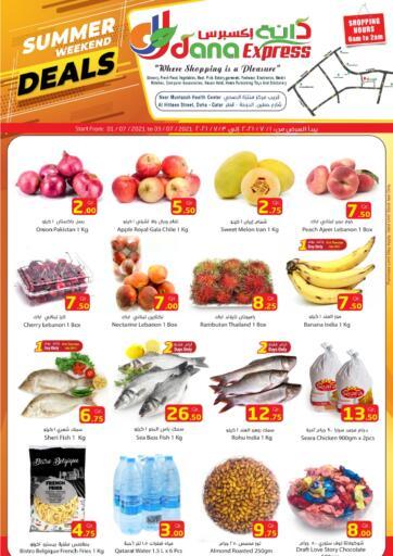 Qatar - Al-Shahaniya Dana Express offers in D4D Online. Summer Weekend Deals. Shop from Dana Express ,   Summer Weekend Deals  Offers  are available now. Get this mind-blowing offers now. offer valid Till 3rd July. Enjoy Shopping!!! . Till 3rd July