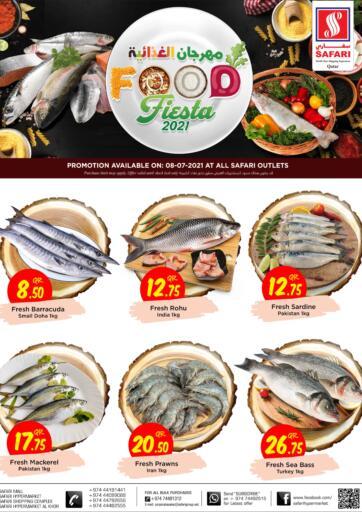 Qatar - Al-Shahaniya Safari Hypermarket offers in D4D Online. Food Fiesta 2021. . Only On 08th July