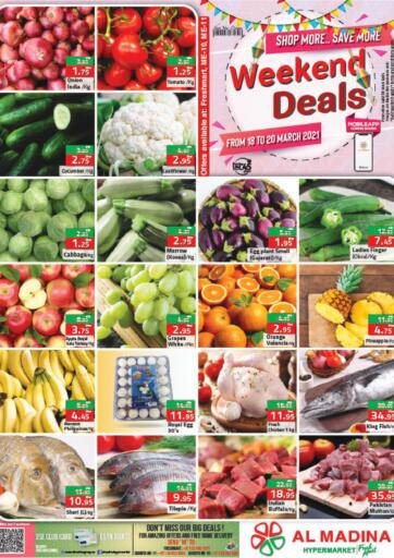 UAE - Abu Dhabi Al Madina Hypermarket offers in D4D Online. Weekend Deals. . Till 20th March