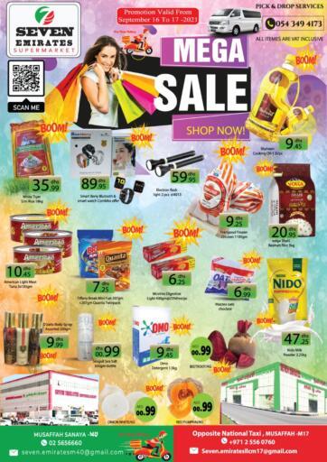 UAE - Abu Dhabi Seven Emirates Supermarket offers in D4D Online. Mega Sale. . Till 17th September