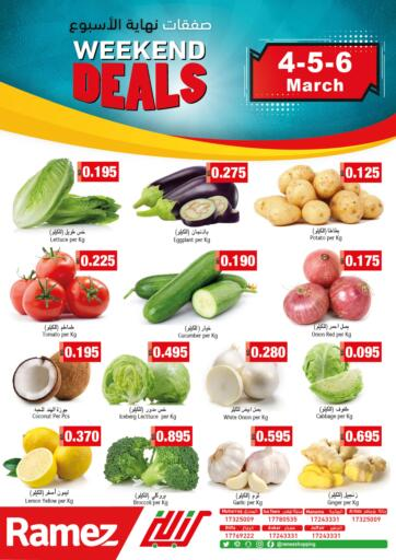 Bahrain Ramez offers in D4D Online. Weekend Deals. . Till 6th March