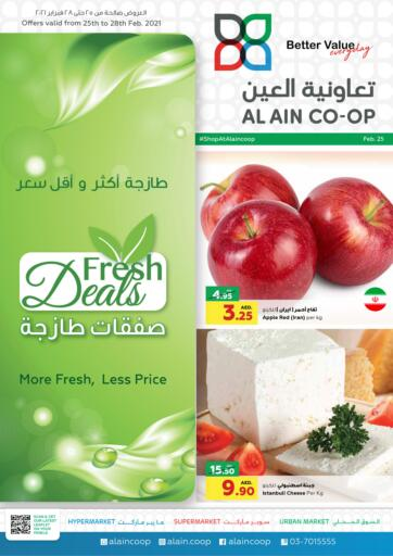 UAE - Abu Dhabi Al-Ain Co-op Society offers in D4D Online. Fresh Deals. . Till 28th February