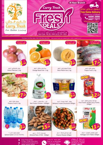 Qatar - Al-Shahaniya Carry Fresh Hypermarket offers in D4D Online. Fresh Deals. . Till 22nd May