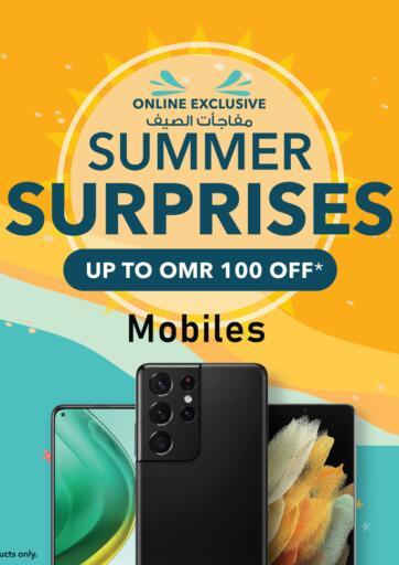 Oman - Sohar Sharaf DG  offers in D4D Online. Summer Surprises - Mobiles. . Until Stock Last
