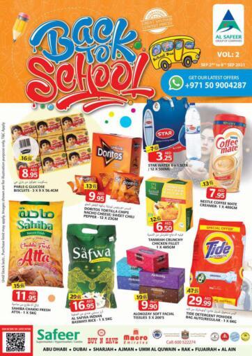 UAE - Sharjah / Ajman Safeer Hyper Markets offers in D4D Online. Back to School 📚✏️. . Till 8th September
