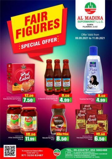 UAE - Fujairah Al Madina Supermarket LLC offers in D4D Online. Gurfa, Fujairah. . Till 11th September