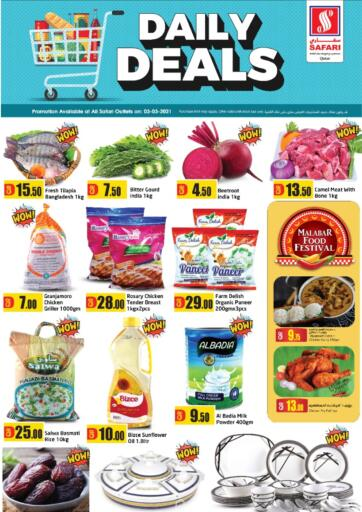 Qatar - Al Shamal Safari Hypermarket offers in D4D Online. Daily Deals. . Only On 03rd March