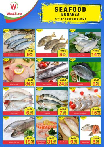 UAE - Abu Dhabi West Zone Supermarket offers in D4D Online. Seafood Bonanza. . Till 6th February