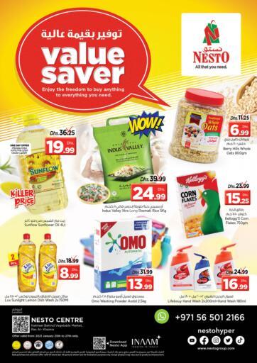 UAE - Ras al Khaimah Nesto Hypermarket offers in D4D Online. Ras Al Khaima.