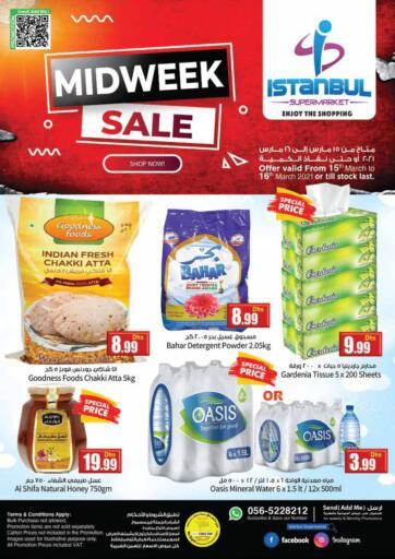 UAE - Dubai Istanbul Supermarket offers in D4D Online. Midweek Sale. . Till 16th March