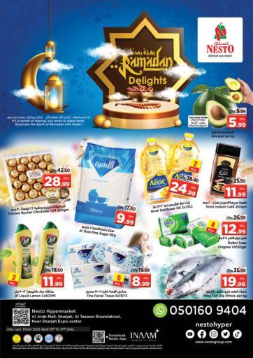 UAE - Sharjah / Ajman Nesto Hypermarket offers in D4D Online. Al Arab Mall, Sharjah. . Till 17th April