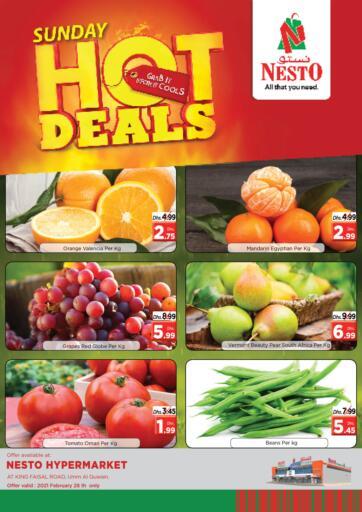 UAE - Umm al Quwain Nesto Hypermarket offers in D4D Online. Umm Al Quwain. . Only on 28th February