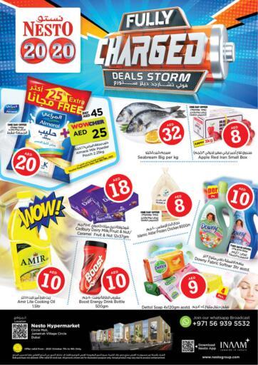UAE - Sharjah / Ajman Nesto Hypermarket offers in D4D Online. Jumeira Village Circle, Dubai. . Till 9th October