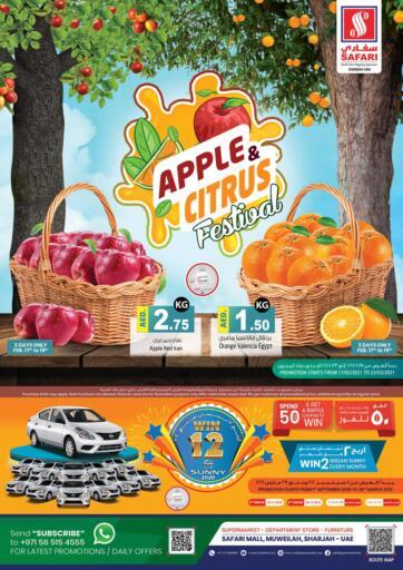 UAE - Dubai Safari Hypermarket  offers in D4D Online. Apple & Citrus Festival. . Till 23rd February