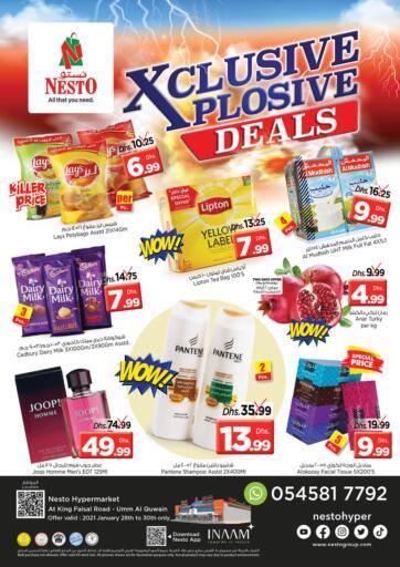UAE - Umm al Quwain Nesto Hypermarket offers in D4D Online. Umm Al Quwain. . Till 30th January