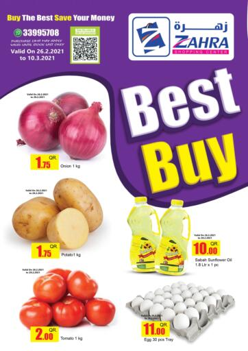 Qatar - Doha Zahra Shopping offers in D4D Online. Best Buy. . Till 10th March