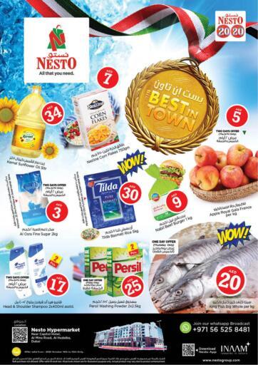 UAE - Sharjah / Ajman Nesto Hypermarket offers in D4D Online. Al Hudaiba , Dubai. . Till 16th October