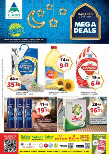UAE - Al Ain Safeer Hyper Markets offers in D4D Online. Mega Deals. . Till 28th April