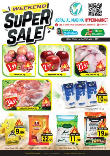 UAE - Sharjah / Ajman Abraj Hypermarket offers in D4D Online. Weekend Super Sale. . Till 16th October