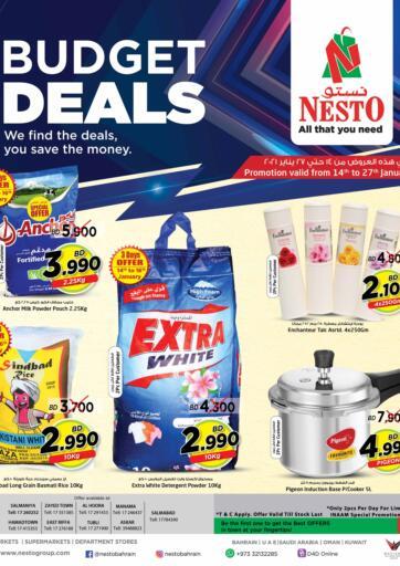 Bahrain NESTO  offers in D4D Online. Budget Deals. . Till 27th January